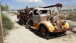 1937 Or 1938 Dodge Drill Rig