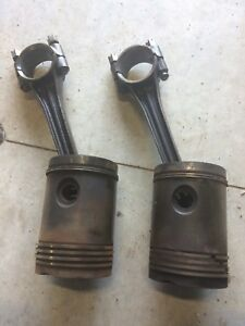 John Deere A Set Of Pistons And Rods