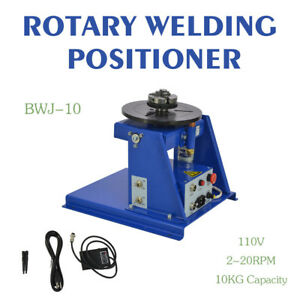 2 20 R min Rotary Welding Positioner Turntable Table Mini 2 5 3 Jaw Lathe Chuck