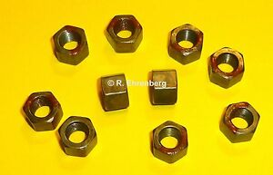 Mopar 8 8 75 Rear Axle Differential Carrier Locknuts Dodge Plymouth Chrysler