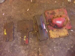 Farmall 504 Ih Utility Tractor Transmission Housing 4 Covers