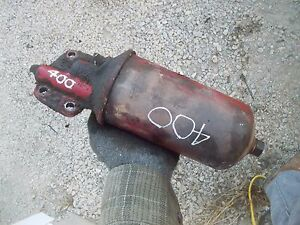 Farmall Ih 400 Gas Tractor Engine Motor Oil Filter Canister Holder