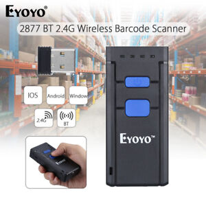 Mini Portable Wireless Bluetooth Barcode Laser Scanner For Ios Android Win Sy