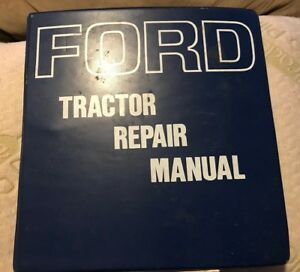 Ford 2000 3000 4000 5000 Tractor Repair Manual With 7000 Supplement