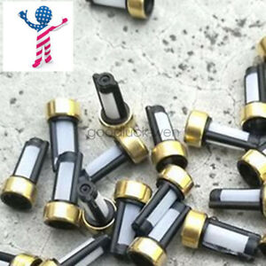 100 Pcs Set Fuel Injector Micro Basket Filter For Asnu03c Injector Repair Kits