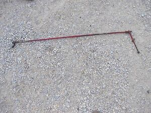 International 300 Rowcrop Tractor Ih Throttle Control Linkage Rod Linkage Handle