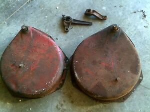 Farmall M Earl Sm Rowcrop Tractor Ih Brake Houseings With Bands