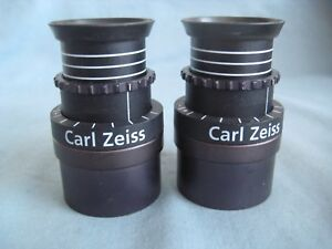Zeiss Surgical Microscope Magnetic Mount 10x Eyepieces
