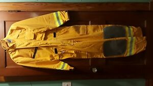 Innotex Nomex Safety Smoke Jumper Firefighter Suit Turnout Gear New Size Large
