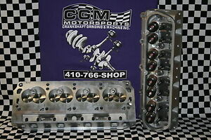Sbf Ford Aluminum Cylinder Heads 180cc 60cc Chamber 2 02 1 60 Valves
