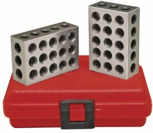 Spi 13 672 1 Precision 2 3 4 Block Set Hardened And Ground Steel With Case