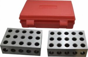 Spi 13 671 3 Precision 2 4 6 Block Set Hardened And Ground Steel With Case