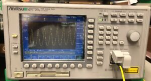 Anritsu Ms9720a Wdm Network Tester Osa Optical Spectrum Analyzer 1 45 1 55um