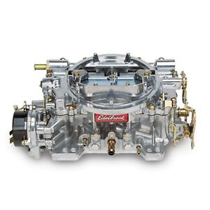 Edelbrock 1406 Carburetor Carb Perf 600 Cfm Electric Satin
