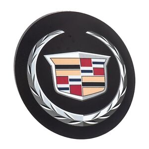 Oem New Front Grille Wreath And Crest Emblem Badge 06 11 Dts 05 07 Sts 25737138