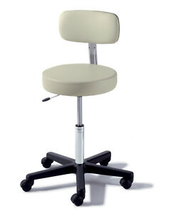 Midmark Ritter 273 Air Lift Stool W Support And Stability Hospital Seat