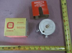 Ohmite Rks5ko Rheostat Potentiometer Model K Wirewound 100w 5000 Ohm