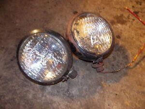 Mh 22 Ac Wd 45 Tractor Aftermarket Working Pair Set 12v Front Head Light Lights