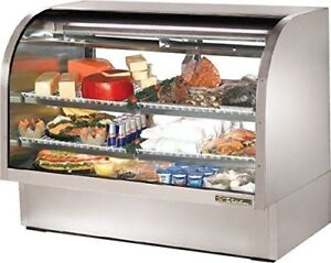 True Food Service Equip Tcgg 60 s Refrigerated Display Case 48