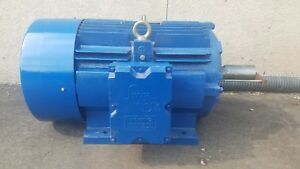 100hp Electric Motor 1800 Rpm 405t Tefc Severe Duty 208 230 460 free Shipping