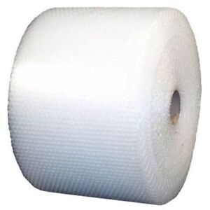 3 16 Small Bubble Cushioning Wrap Clear Roll 2100 X 12 Wide 2100ft Perf 12