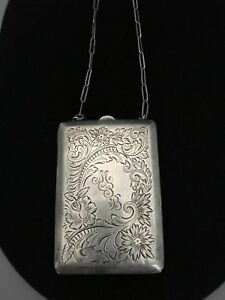 Sterling Silver Coin Purse Made By Nussbaum Hunold
