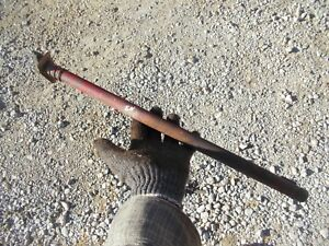 Ford 8n Tractor Left Right Brake Pedal Mounting Shaft 8 N