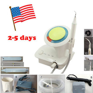 Dental Piezo Ultrasound Ultrasonic Scaler Detachable Handpiece Fit Ems 5 Tips P6
