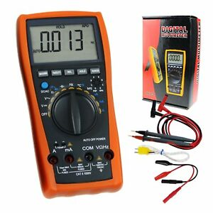 Multimeter Auto Manual Ranging 6000 Counts Ac Dc With K type Thermocouple
