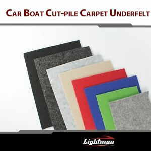Auto Car Upholstery Cut pile Trunk Liner Carpet Flexible 78 w 40 w Lining Fabric