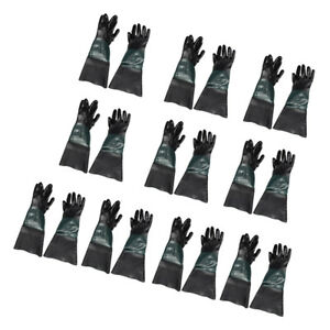 10pair 60cm Replace Labour Protection Gloves Sand Blasting For Sand Blasting