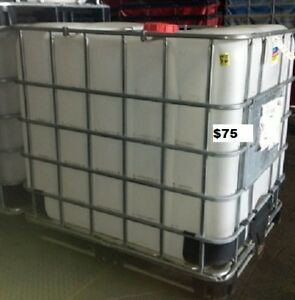 275 Gallon Ibc Tank Tote Caged Ibc Water Tote Tank Local Pick Up Jax Fl