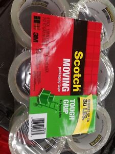 Scotch Packaging Tape 1 88 X 43 7 Yards 6 pk Clear 3500406 5 Set