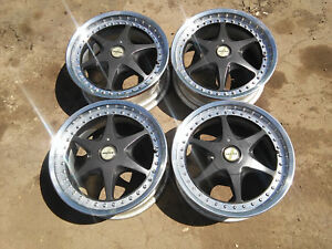 Geniune Original Hartge Japan 4x114 3 7 7 5j 16 Rim No Bmw E30 E34 4x100 Bbs Rs