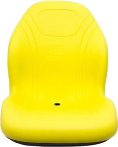 John Deere Skid Steer Yellow Bucket Seat Fits 240 250 315 328d 332 7775 Etc
