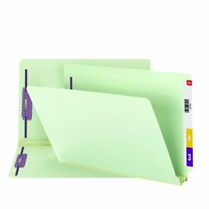 Smead End Tab Pressboard Fastener File Folder With Safeshield Fastener 2