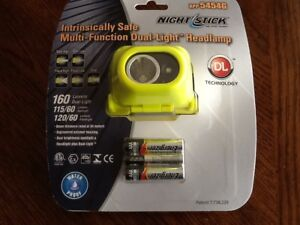 Nightstick Headlamp Xpp 5454g Intrinsically Safe Dual light Multi Function Nip