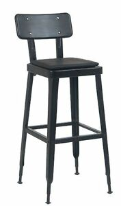 New Indoor Metal Barstool Commercial Vinyl Seating Restaurant Furniture A122b bs