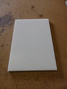 Delrin Pom Sheet 1 Thick 12 X 24 White Thermoplastic Poly Cut Plastics