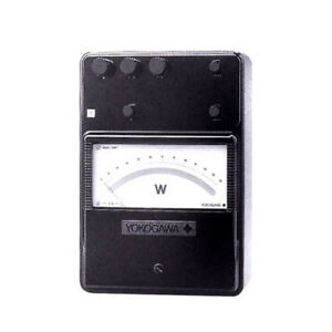 Yokogawa 204113 Portable Single Phase Low power factor Wattmeter 5 2