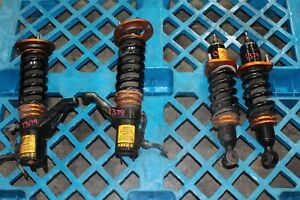 Jdm Dc5 Type R Acura Rsx Kbee Killer Bee Damping And Height Adjustable Coilovers