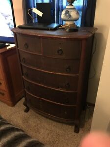 Antique Tall Dresser Pick Up Only