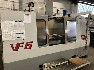 Haas Vf 6 Cnc Mill Vertical Machining Center Vf 4 Vf 5 Vf 7