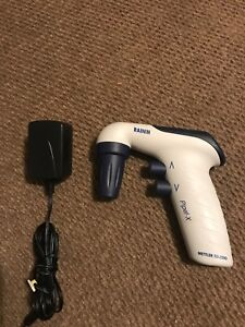 Rainin Electric Pipette Controller Dark Blue With Charger