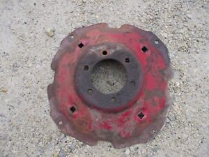 Farmall Ih B A Bn Tractor Original Ih Ihc Rear Wheel Center Steel Hub Center