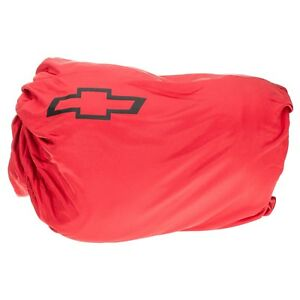 Oem New Indoor Fitted Soft Lining Car Cover Red W Bowtie 11 15 Camaro 20960816