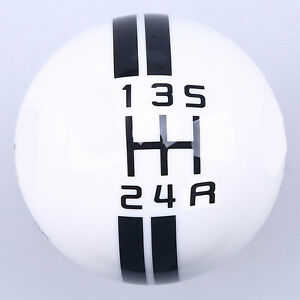 Gear Shift Knob White Snake Cobra Image For Ford Mustang Gt500 5 6 Speed Manual