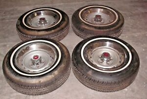 1971 72 Chevy Or Gmc 15 5 Lug Oem Rally Wheels And Tires