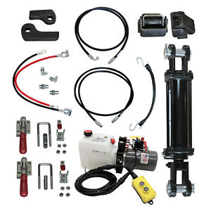 Hydraulic Tilt Deck Kit 310 Tr For Trailers With Tie Rod Cylinder