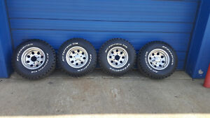 15x8 M t Wheels And 31x1050r15 Tires